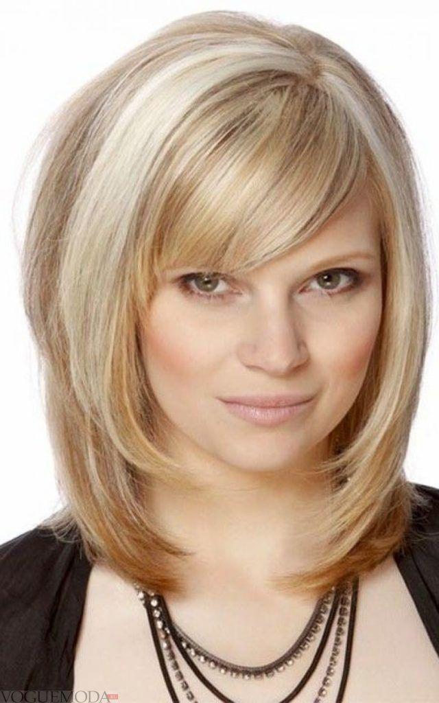 стрижка «Аврора» цвета блонд