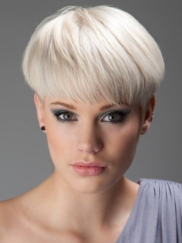 стрижка «Паж» на короткие волосы