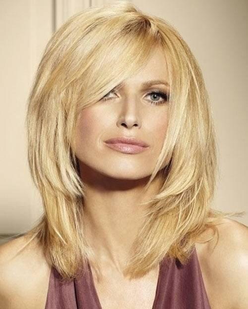 стрижка Итальянка для блондинок