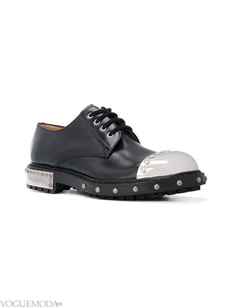 мужские двухцветные туфли