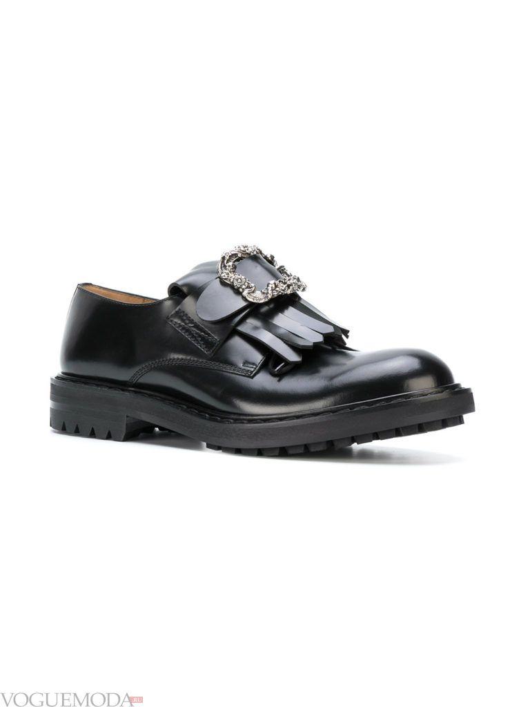 мужские туфли с пряжками